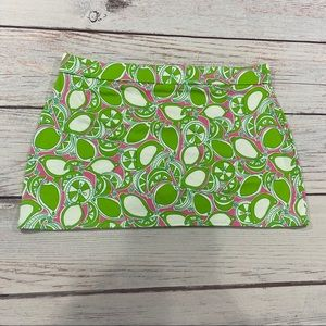 Lilly Pulitzer Litzy Skirt in Hibiscus Pin